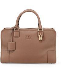 Loewe Amazona Leather Satchel Bag - Lyst