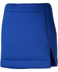 Atto - Mini Neoprene Skirt - Lyst
