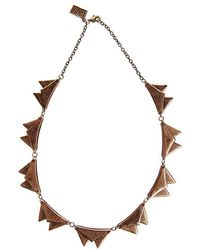Low Luv by Erin Wasson Envelope Necklace - Lyst