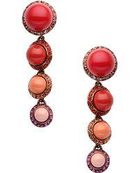 Lanvin Earrings - Lyst