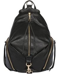 Rebecca Minkoff - Julian Textured Leather Backpack - Lyst