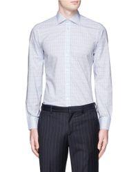 Turnbull & Asser | Regent Collar Stripe Poplin Shirt | Lyst