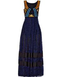 Burberry Prorsum - Cut-Out Panelled Dress - Lyst