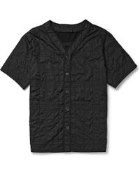 Alexander Wang Quilted Shortsleeved Shirt - Lyst