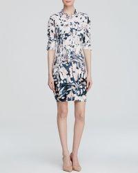 Nydj Kelsie Windblown Petal Shirt Dress - Lyst