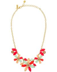 Kate Spade Gardens Of Paris Statement Necklace - Lyst