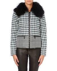Michael by Michael Kors Quilted Jacket Beige - Lyst