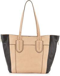 orYANY Kristen Pebbled Leather Tote Bag brown - Lyst
