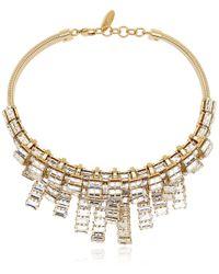 Giuseppe Zanotti Crystal Embellished Necklace - Lyst