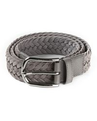 Tod's Braided Belt - Lyst