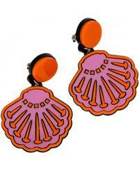 Yazbukey - Seashell Earring - Lyst