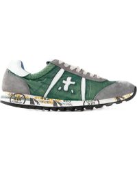 Premiata Lace Up Sneakers - Lyst