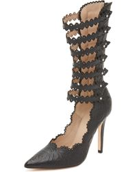 Zimmermann - Lace Strap Cuff Heels - Lyst
