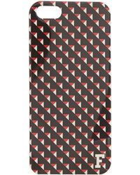 French Connection - Geo Print Iphone 5 Case - Lyst