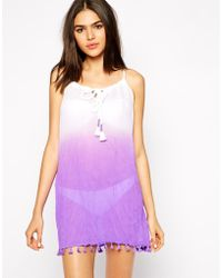 Seafolly Soundwave Splendour Beach Dress - Lyst