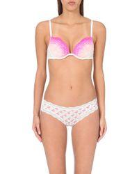 Cheek Frills - Flamingo Set Of Four Jersey Briefs, Women's, Size: S, Multicolour - Lyst