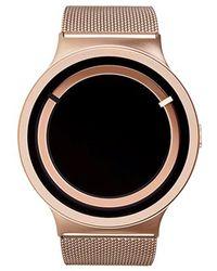 ZIIIRO - Eclipse Metallic Rose Gold Watch - Lyst