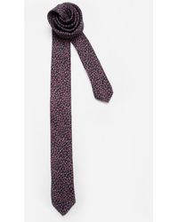 Ted Baker Printed Ditsy Floral Tie - Lyst