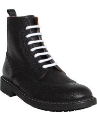Givenchy Commando Leather Boot - Lyst