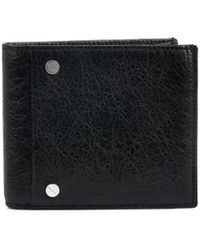 Balenciaga Square Leather Bifold Wallet - Lyst