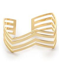 Gorjana - Desti Cuff Bracelet Gold - Lyst