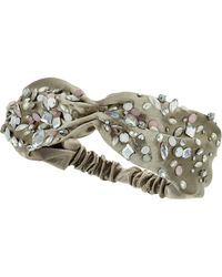 Topshop Jewel Stone Headband - Lyst
