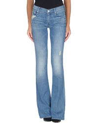 Mother Denim Trousers - Lyst