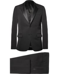 Givenchy Black Wool Suit - Lyst