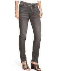 Lauren by Ralph Lauren Slimming Skinny Jeans - Lyst