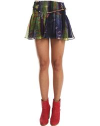 Elizabeth And James Mimi Mini Skirt multicolor - Lyst