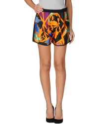 Balenciaga Multicolor Mini Skirt - Lyst