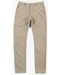 Closed Clifton Slim Pant beige - Lyst