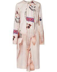 Stella McCartney Tasha Printed Silk Dress - Lyst