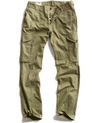 Todd Snyder Olive Infantry Cargo Pant - Lyst