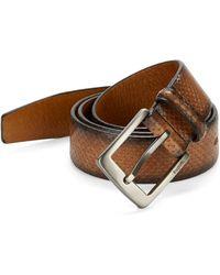 Bugatti | Woven Leather Belt | Lyst