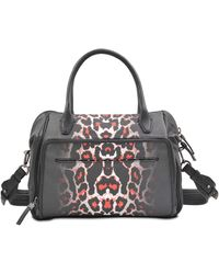 McQ by Alexander McQueen The Yt Pixel Leopard Bag - Lyst