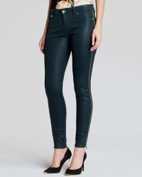 Ted Baker Jeans - Modey Side Zip Skinny in Olive - Lyst