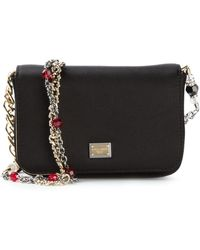 Dolce & Gabbana Small Flap Shoulder Bag - Lyst