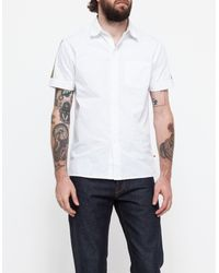 Need Supply Co. Mist Shirt Short Sleeve white - Lyst