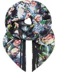 McQ by Alexander McQueen Festival Floral Scarf - Lyst
