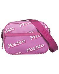 Moschino Pink Pvc Shoulder Bag - Lyst