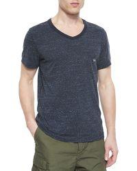 Diesel Short-Sleeve V-Neck T-Shirt - Lyst