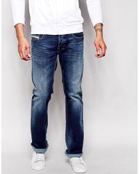 Diesel Jeans Zatiny 839H Bootcut Dark Wash - Lyst
