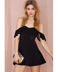 Nasty Gal Lovers And Friends Sweet Somethings Dress black - Lyst