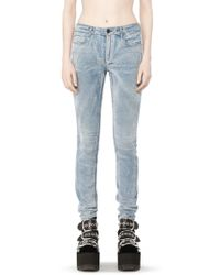 Alexander Wang | Wang 001 Flocked Slim Fit | Lyst