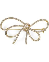 Nadri - Thin Bow Pin - Lyst