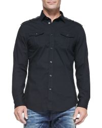 Diesel Button-down Shirt with Pockets - Lyst