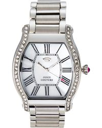 Juicy Couture 1901085 Silver-Tone Watch - Lyst