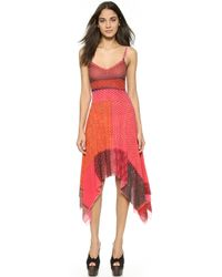 Jean Paul Gaultier Jagged Hem Tank Dress  - Lyst