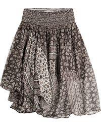 Preen Line Taza Printed Chiffon Skirt - Lyst